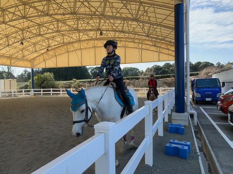 全国乗馬倶楽部振興協会、5級認定試験を行いました